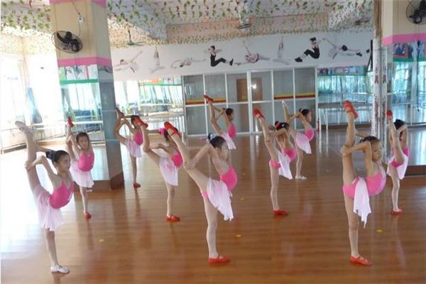 拉丁舞培训学员