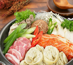 肉加韩国料理火锅