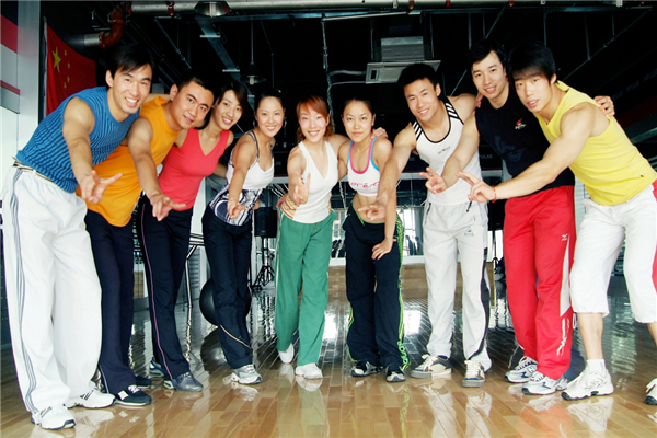 英派斯健身俱乐部成员