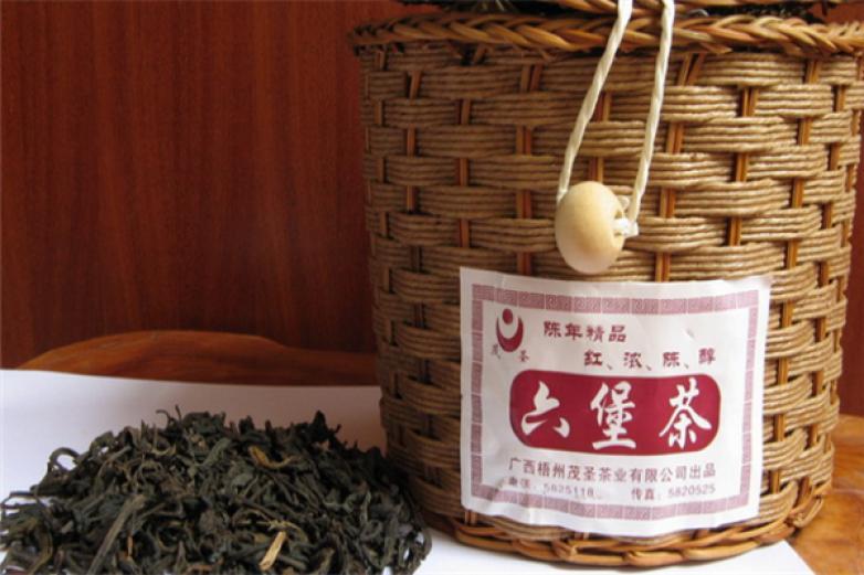梧州六堡茶品味