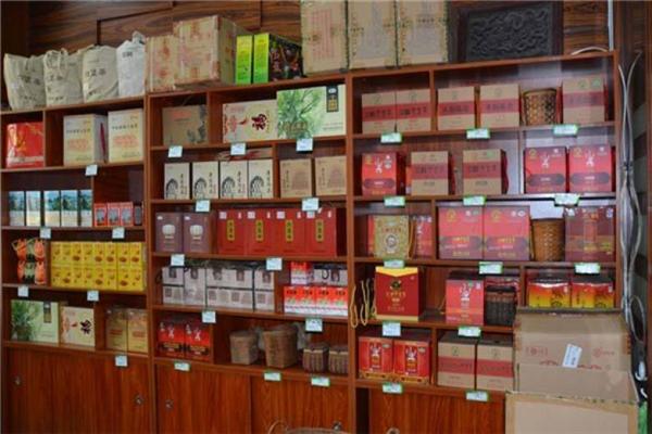 梧州六堡茶陈列