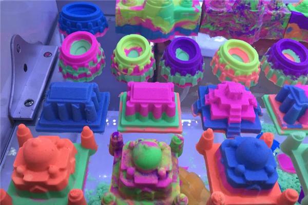 太空沙玩具造型