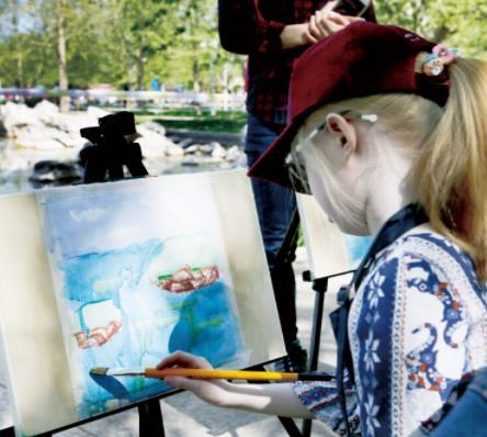 艺美绘儿童美术教育绘画