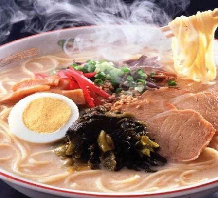 日本一乐拉面鸡蛋