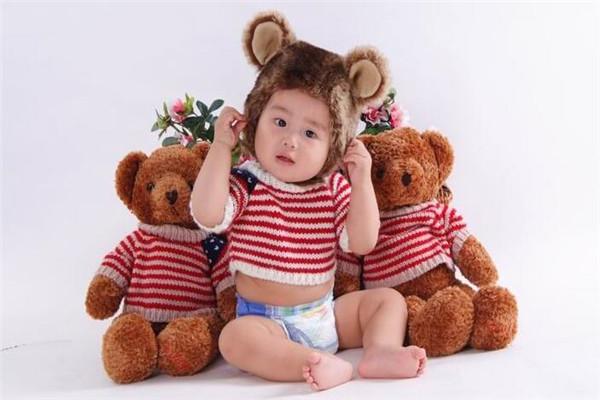 三只熊儿童摄影实力