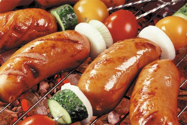 串派烧烤烤肠