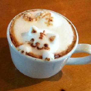 好喝的咖啡奶泡