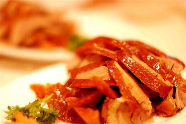 刘福记烤鸭提供外卖服务