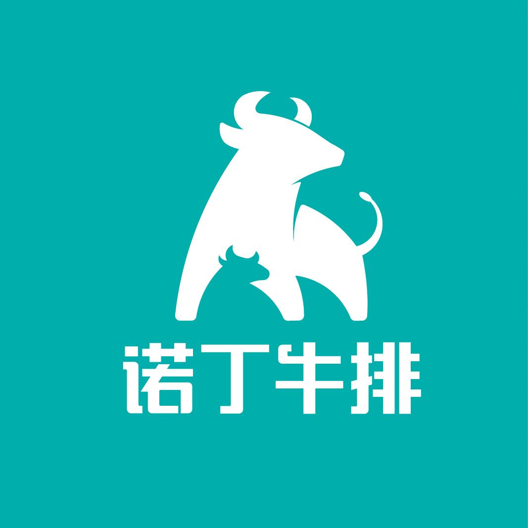 诺丁牛排品牌logo