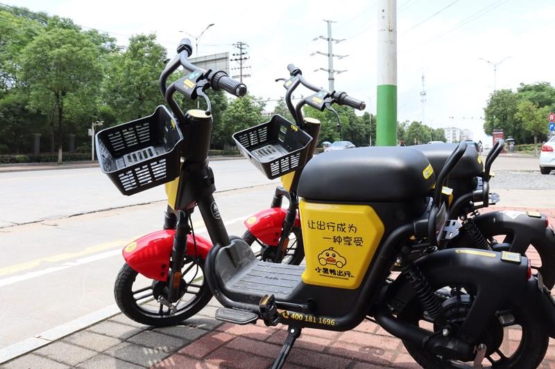 小黄鸭共享电单车