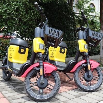 小黄鸭共享电单车加盟