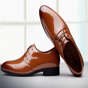 耶纳诺啄木鸟皮鞋尖头鞋