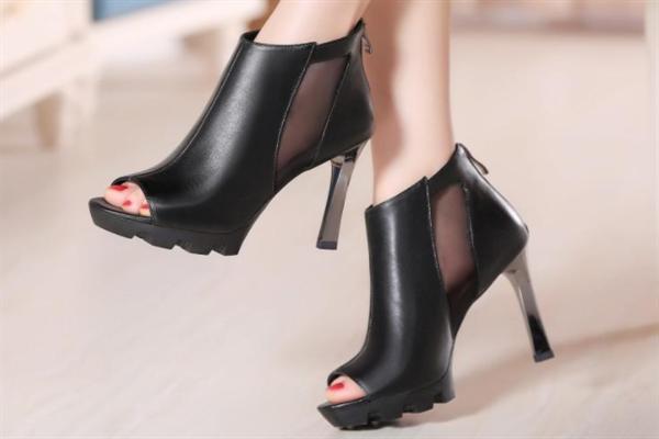 舒丹妮女鞋鱼嘴鞋