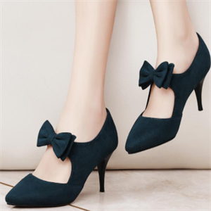 舒丹妮女鞋蝴蝶结
