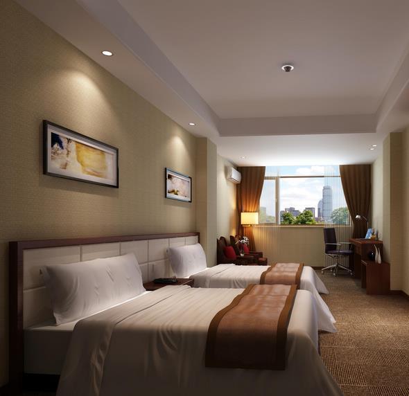金路酒店床位