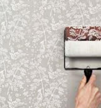 华塑液体壁纸图案