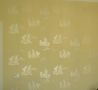 华塑液体壁纸色彩