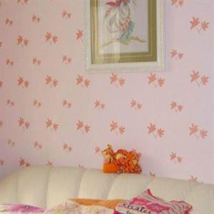 乐屋雅蒂液体壁纸粉红