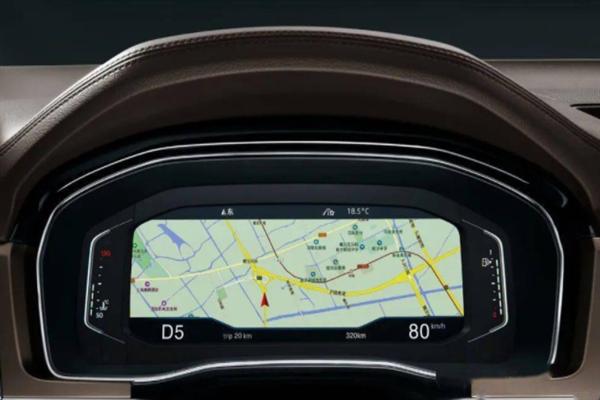 超前护航汽车导航界面