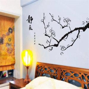 多丽士墙艺卧室