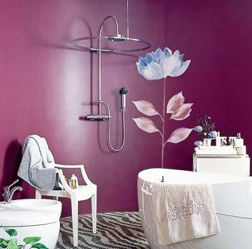 阳光花房卫浴风格