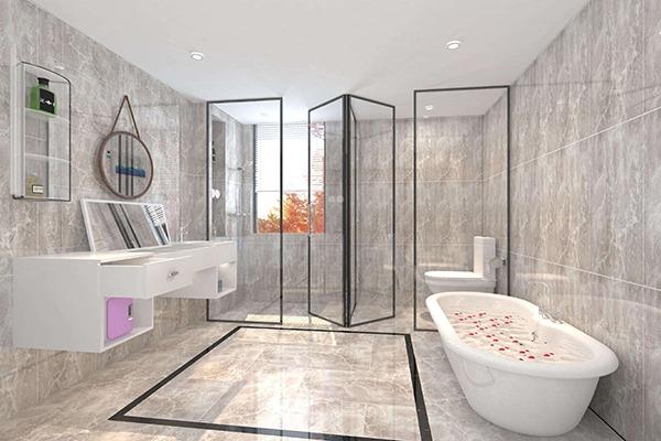 阳光花房卫浴设计
