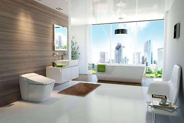 阳光花房卫浴样式