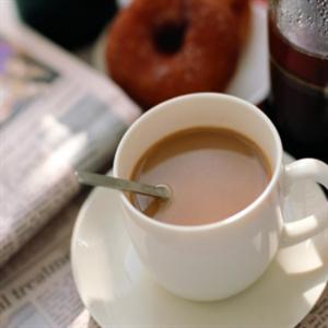 摩西卡咖啡加奶