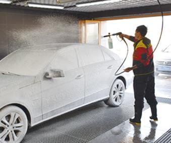 立途汽車美容灑水