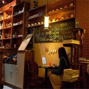 至愛咖啡館收銀臺