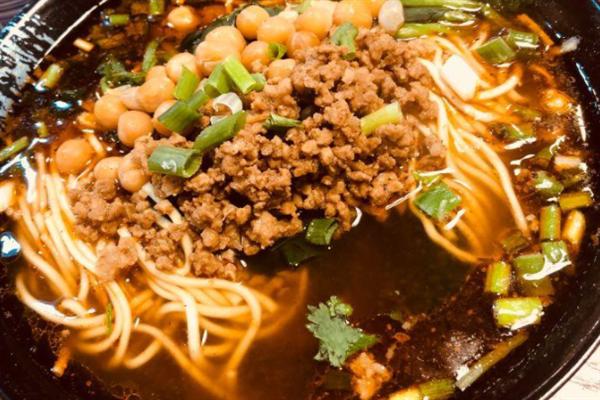 碗秀山城小面黄豆