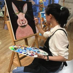 彩藝坊畫室油畫