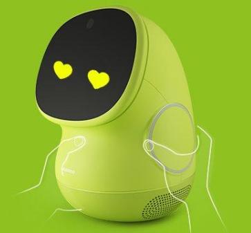 馬識圖兒童教育機器人綠色