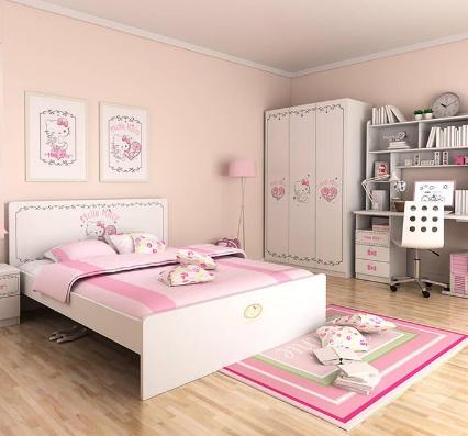 松果兒童家具女孩床