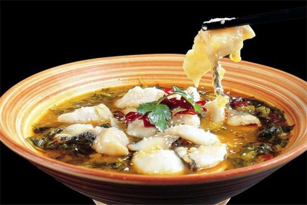 魚見花椒無刺酸菜魚美味