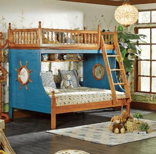 卡樂屋松木兒童家具風格