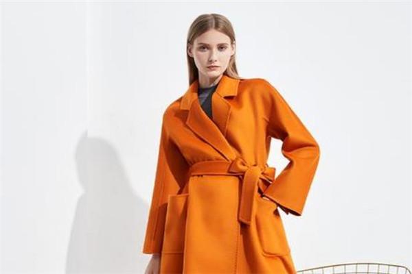 古歐女裝橙色