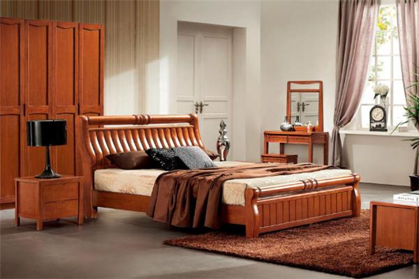 緯宏實木家具床
