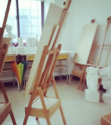 青橙畫室學習
