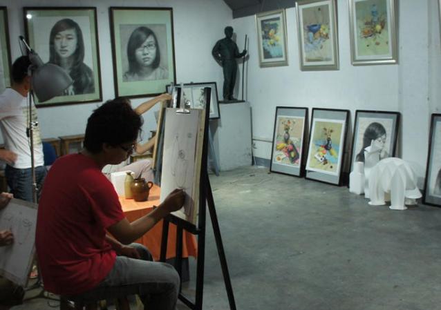 青橙畫室練習