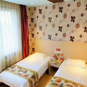 艾居金洋酒店雙人床