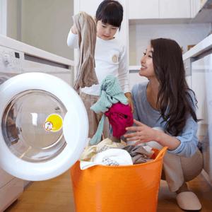 浣熊洗衣店整潔
