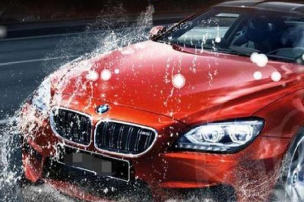 車點點洗車車身上光