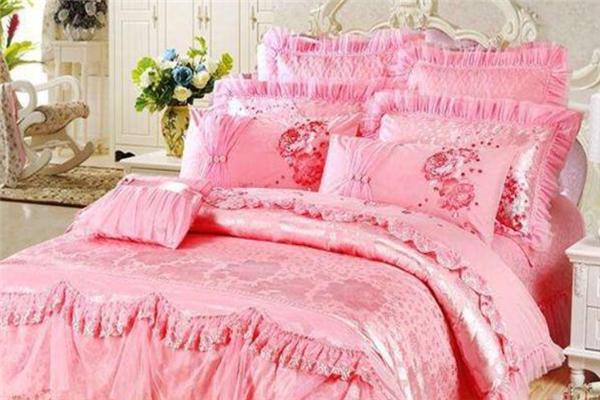 玉麒麟家紡粉色