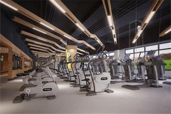 奥斯帕克国际健身学院空间