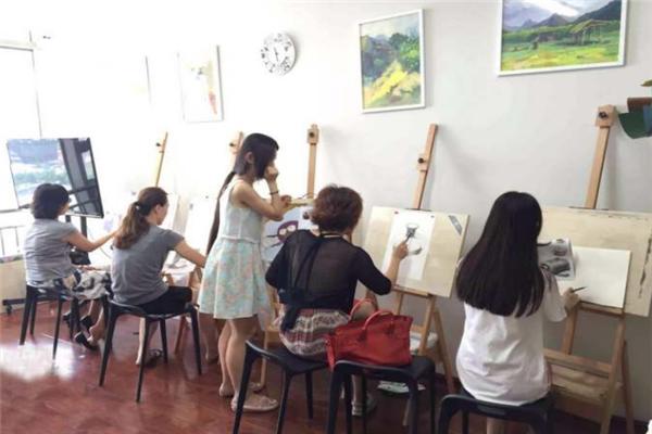 未來畫室老師指導