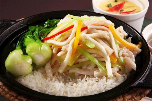 煌記煲仔飯青菜