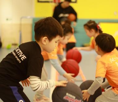 超动能儿童运动中心课堂