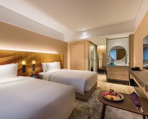 博雅锦湖酒店卧室