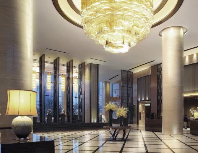 博雅锦湖酒店大厅